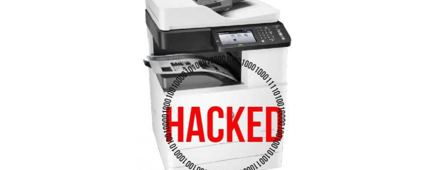 Printers are Hackable: Here are Essential Security Features to Consider for your Next Business Printer